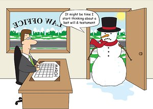Law Office Snowman