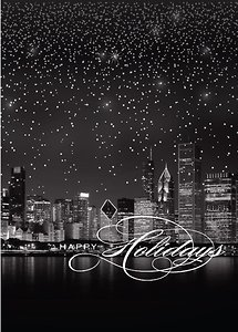 Starry Border Chicago - Ebony