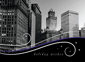 Chicago Swirls - Ebony