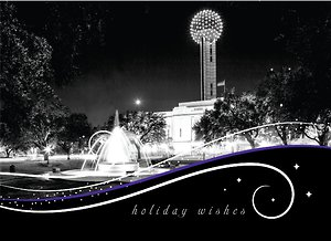 Dallas City Swirls - Ebony