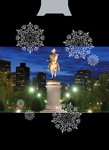Boston Die Cut Ornament