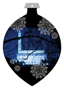 Washington DC Die Cut Ornament