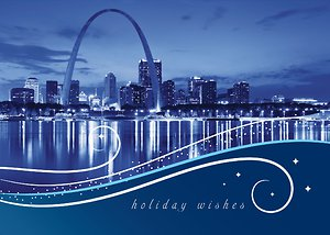 St. Louis City Swirls - Navy