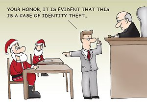 Legal Identity Theft