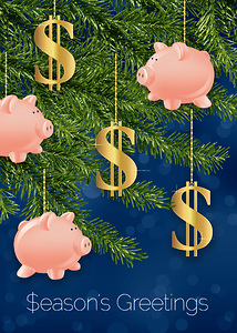 Holiday Money Tree