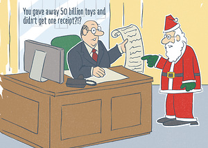 Santa's Deductions
