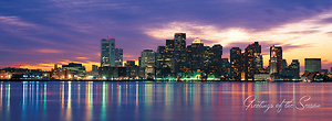 Boston Cityscape - Wrap Design