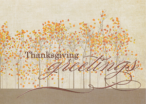 Greetings of Thanksgiving