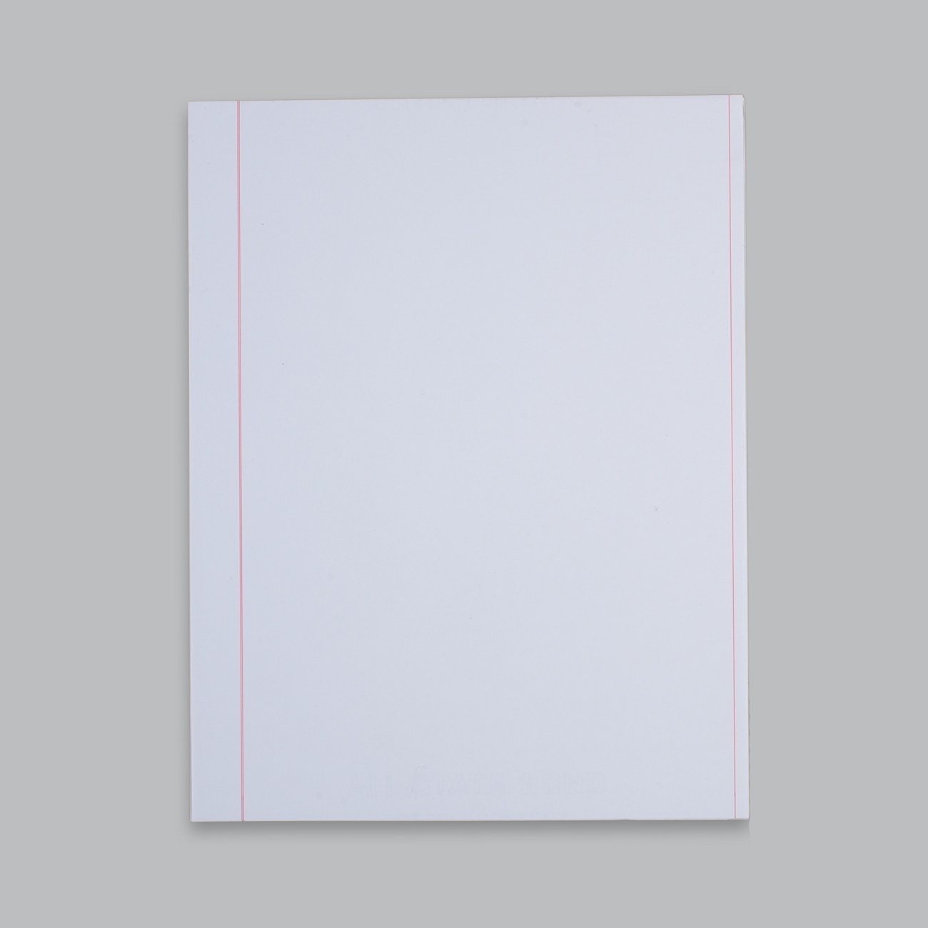 "ALL-STATE Bond Ruled Paper 8 1/2"" x 11"", Red Standard Ruled, Bright White, 20 lb. ALL-STATE Bond Paper, Recycled, 30% PCW, 500/RM"