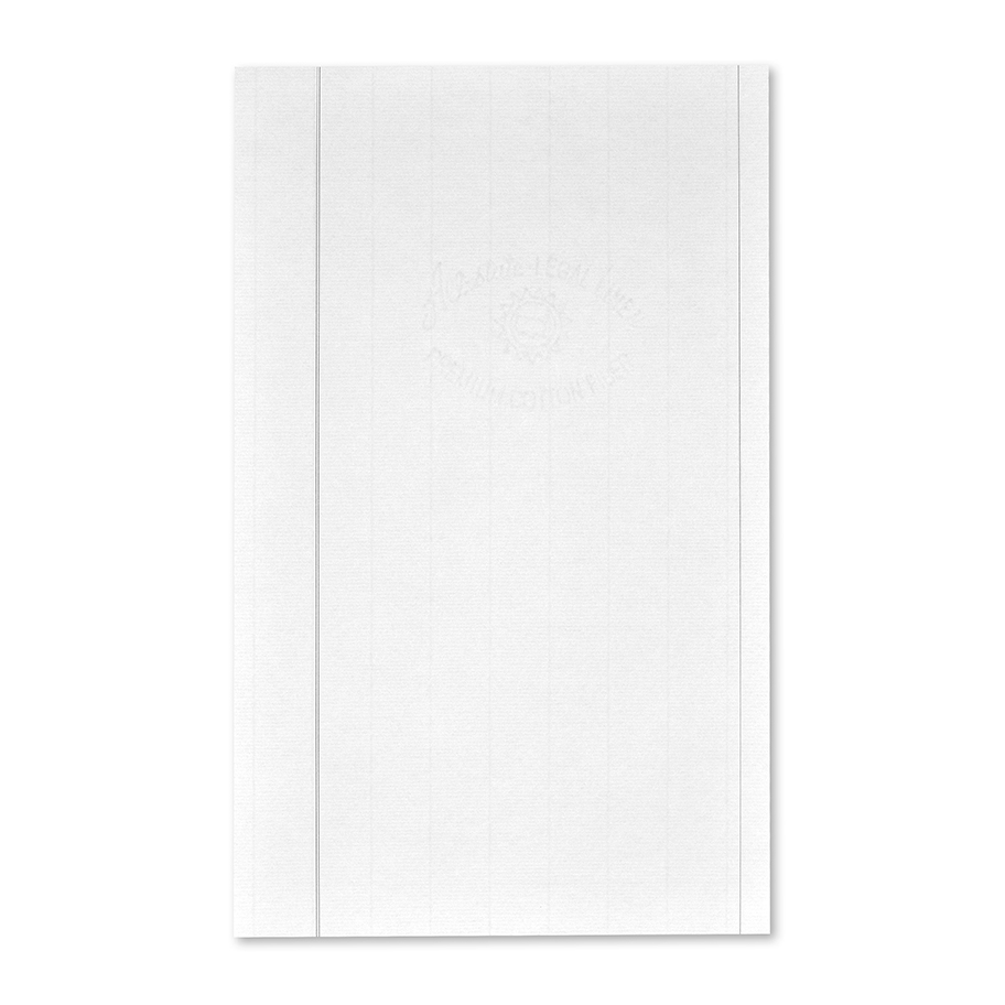 Will Continuation Pages, Blue Ruled, Style 501/502 and 601/602 Style 501/502, Legal Size, Will Blue Ruled Blank Continuation Sheet, Natural Laid, ASL Linen, 25% Cotton, 100/PK