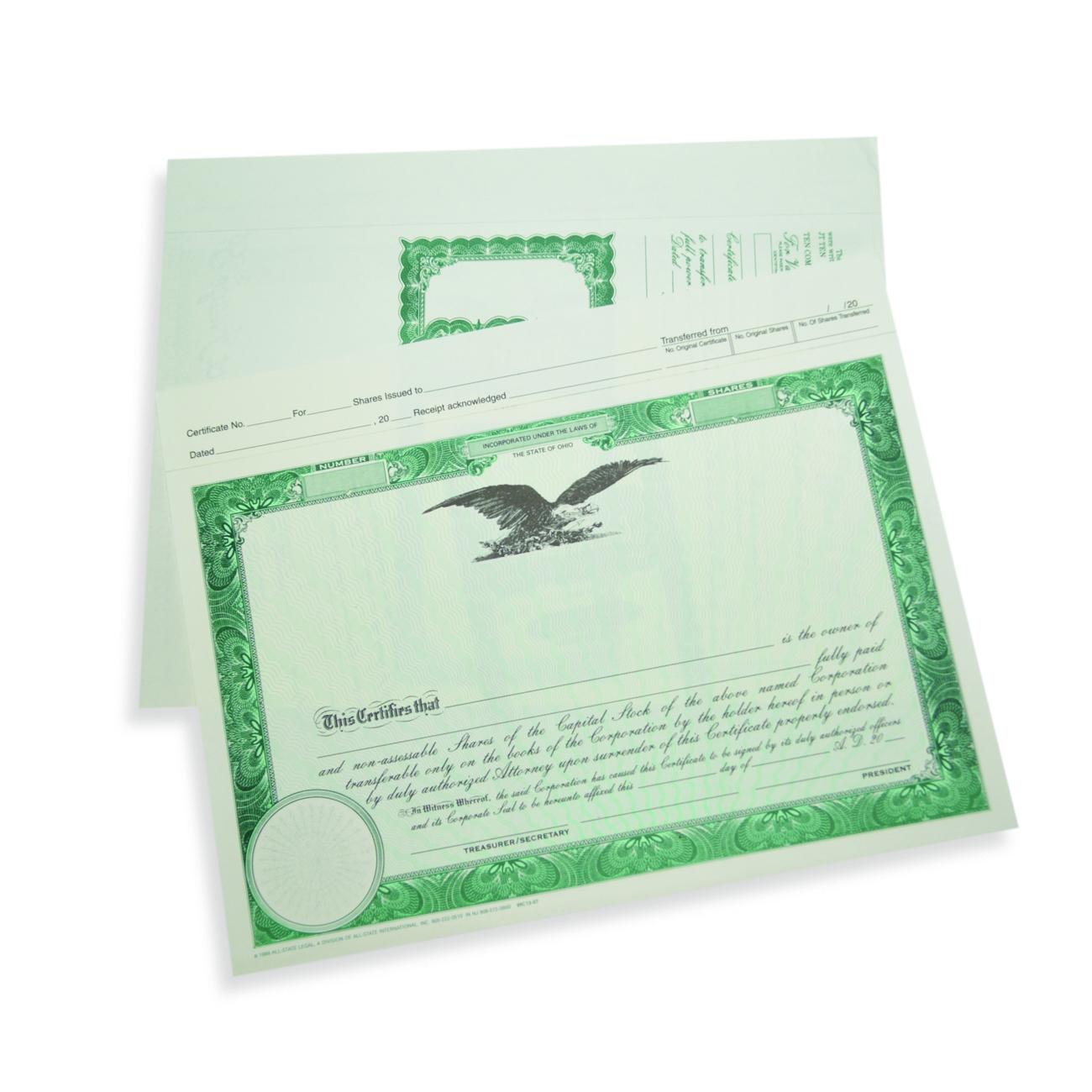 Corporate Certificates