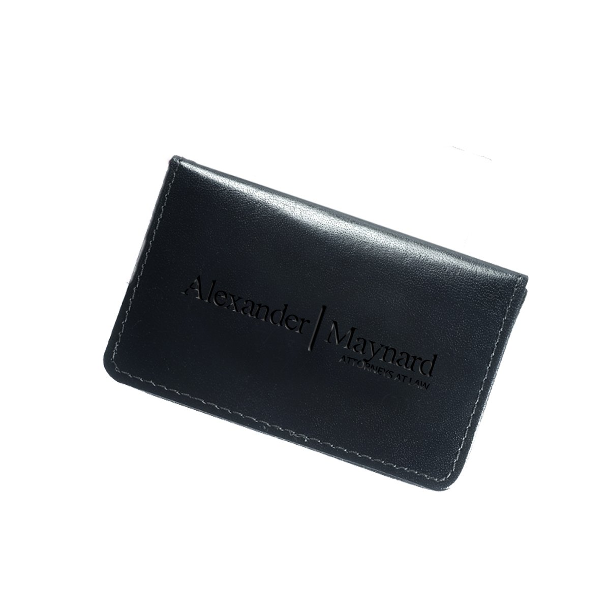 Personalized Leather Business Card Holders