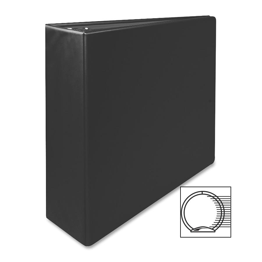 "3"" Capacity 3 Ring Binder Black"