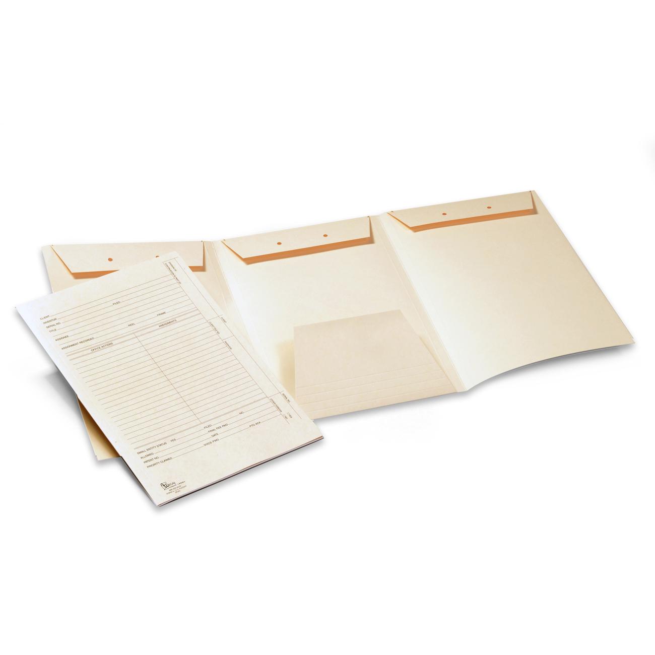 Intellectual Property Folders, Patent Application