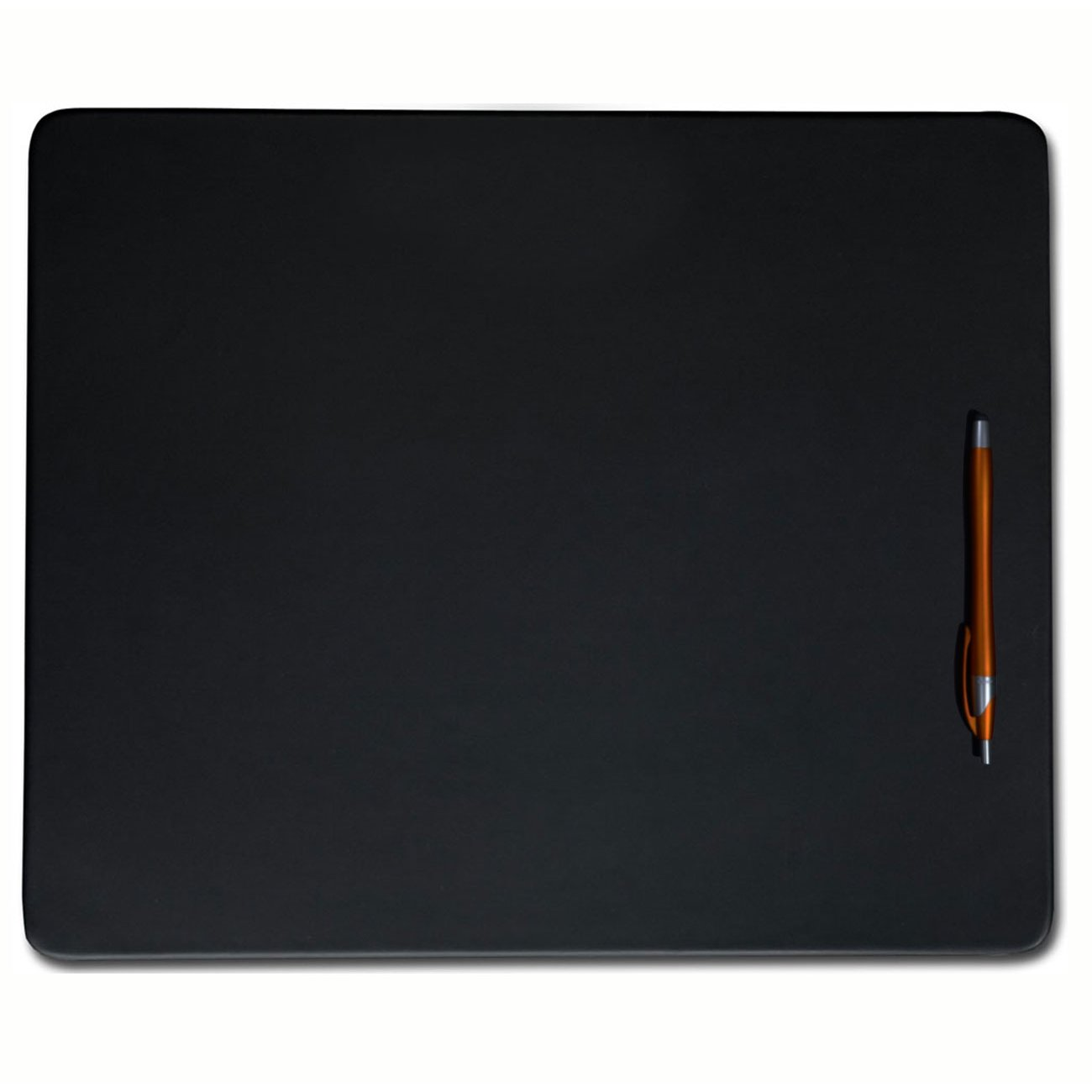 "Synthetic Leather Placemats - 20"" x 16"", Black"