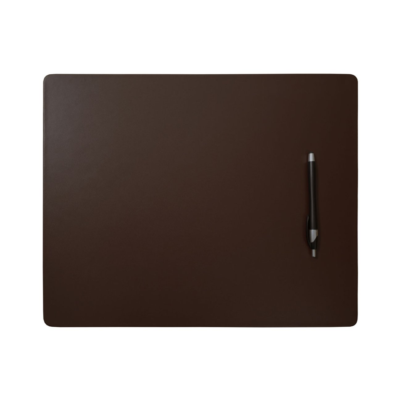 "Leather Placemats - 17"" x 14"", Chestnut Brown"