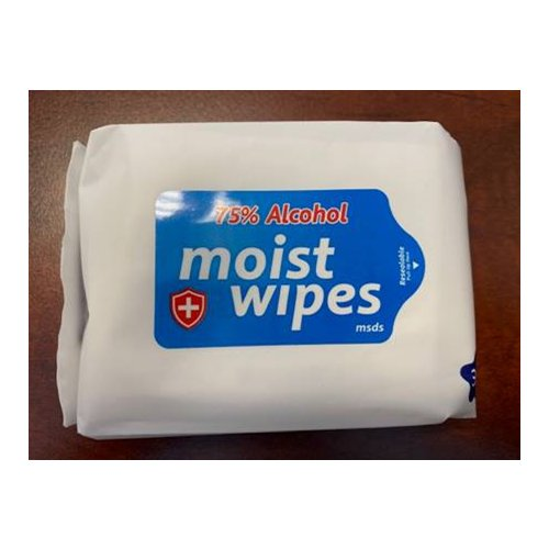 IN STOCK TODAY - Alcohol Moist Wipes