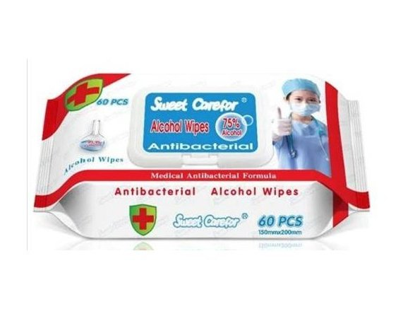 Antibacterial Alcohol Wipes