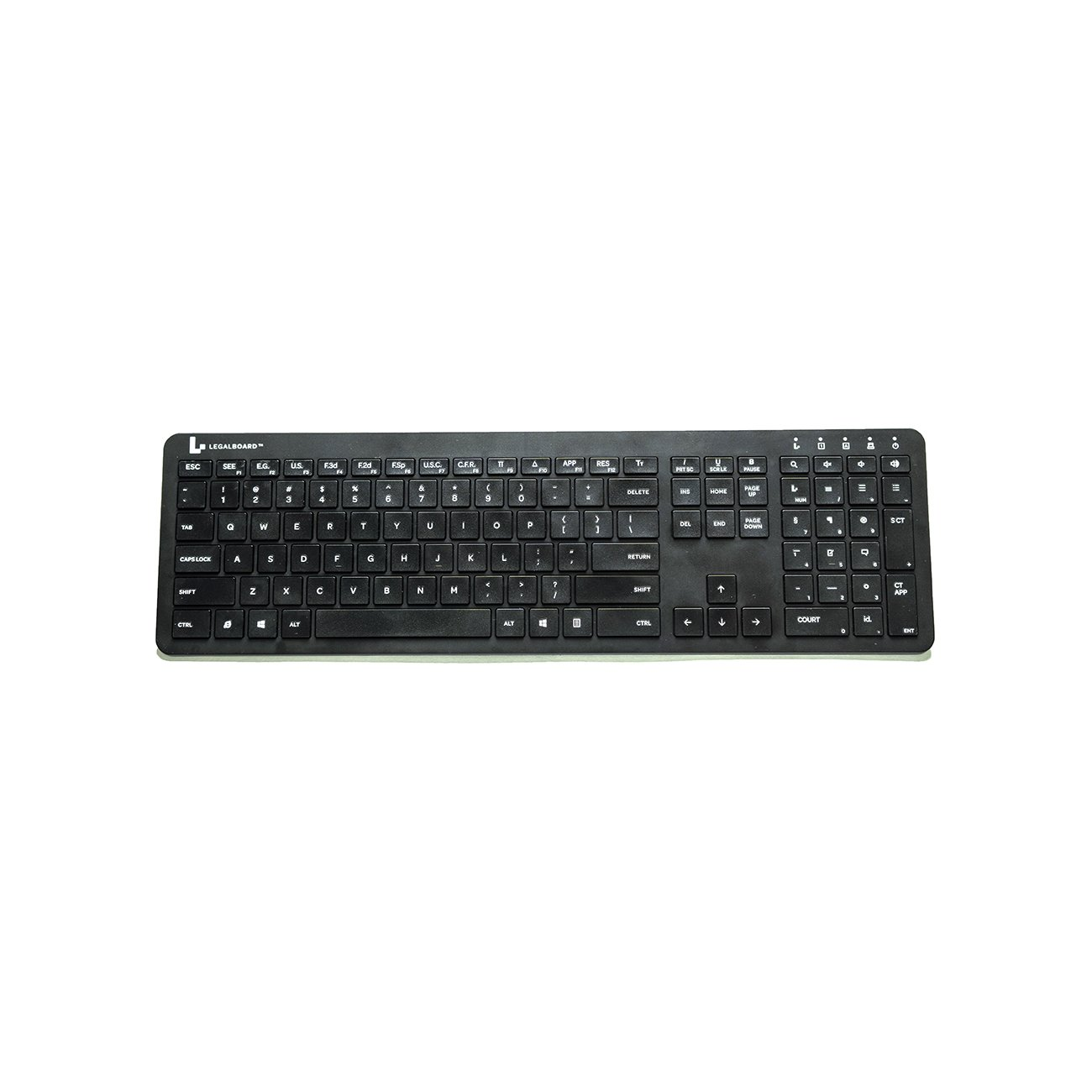 PRESALE ONLY! LegalBoard Legal Keyboard - Wireless Version