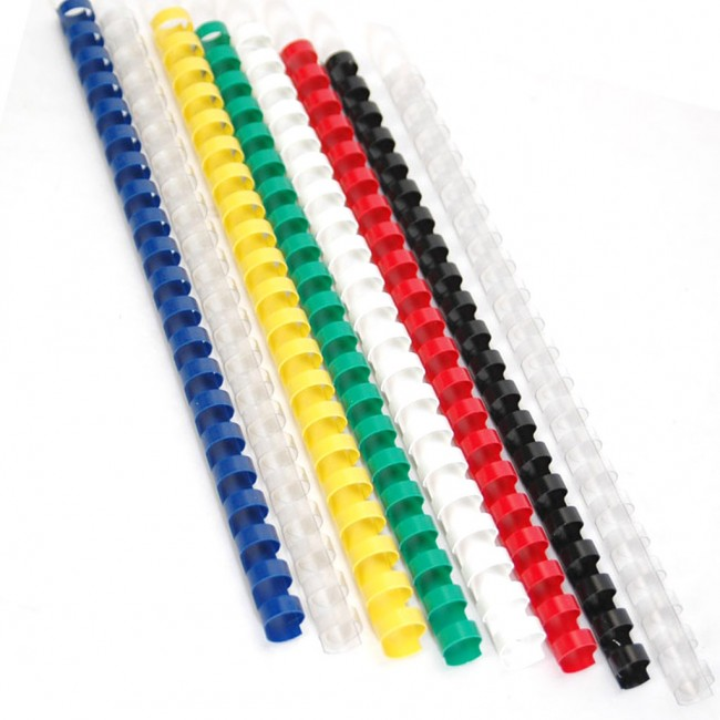 19-Ring Plastic Comb Binding